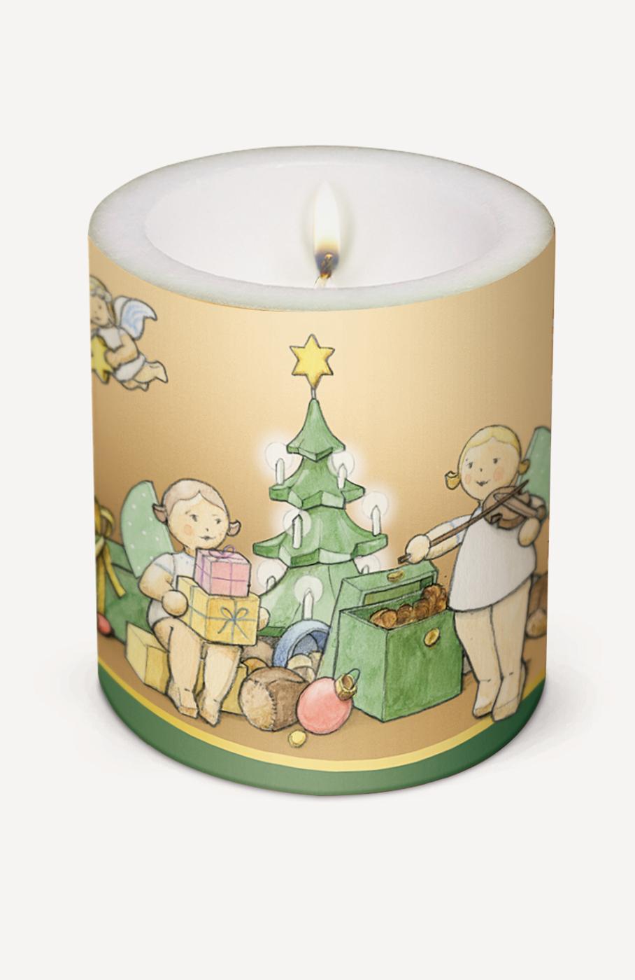 Kerze 'Weihnachtszauber'