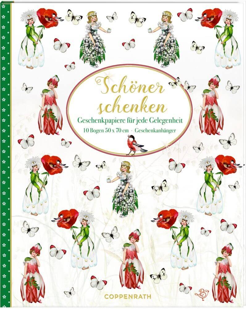 Geschenkpapier-Buch - Schöner Schenken (Blumenkinder) B.Behr