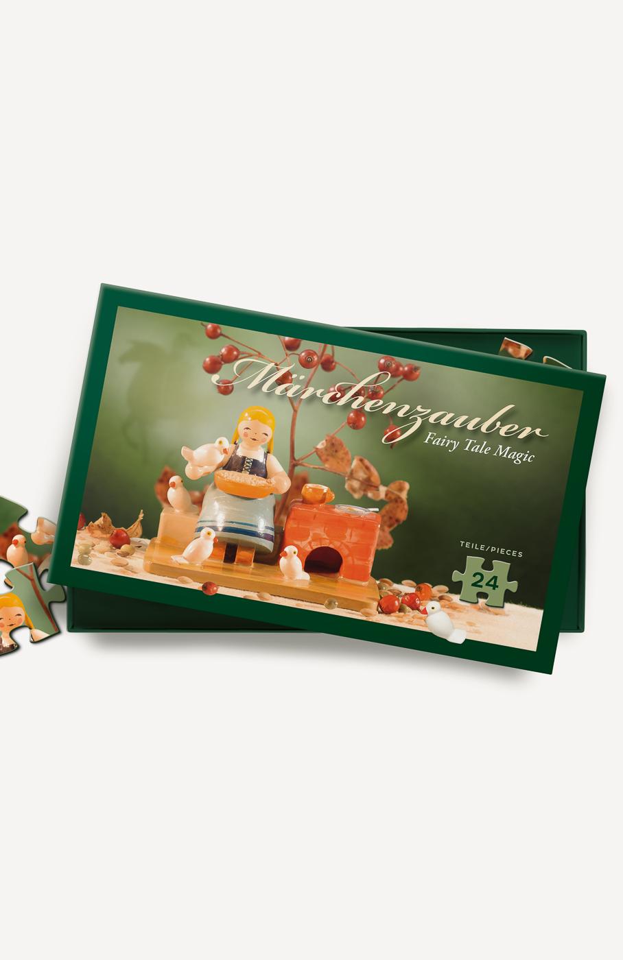 Märchenpuzzle, Aschenbrödel, 24 Teile