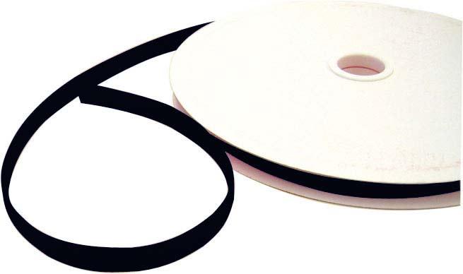 Klettband, schwarz