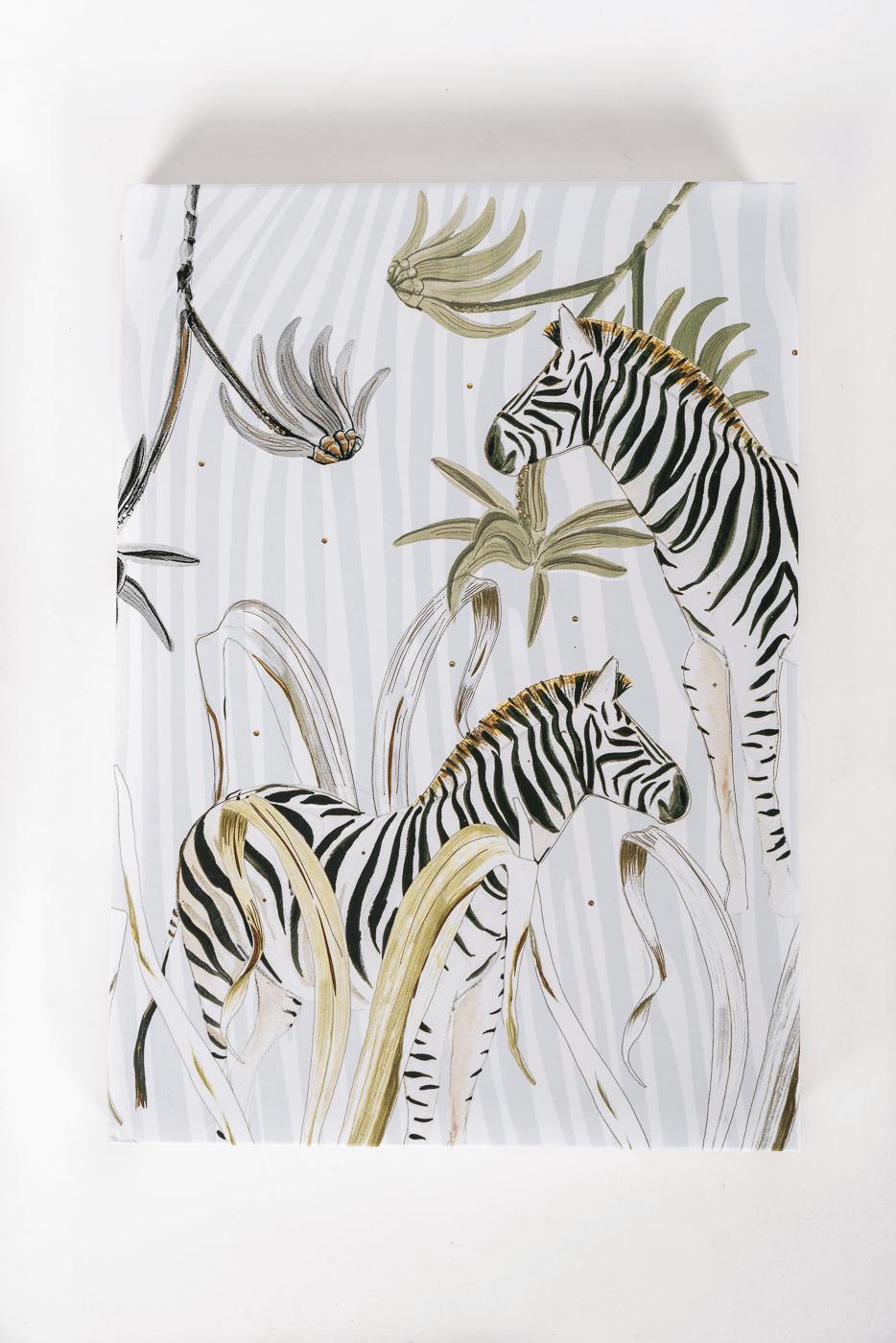 Notizbuch Wild Life, Zebra