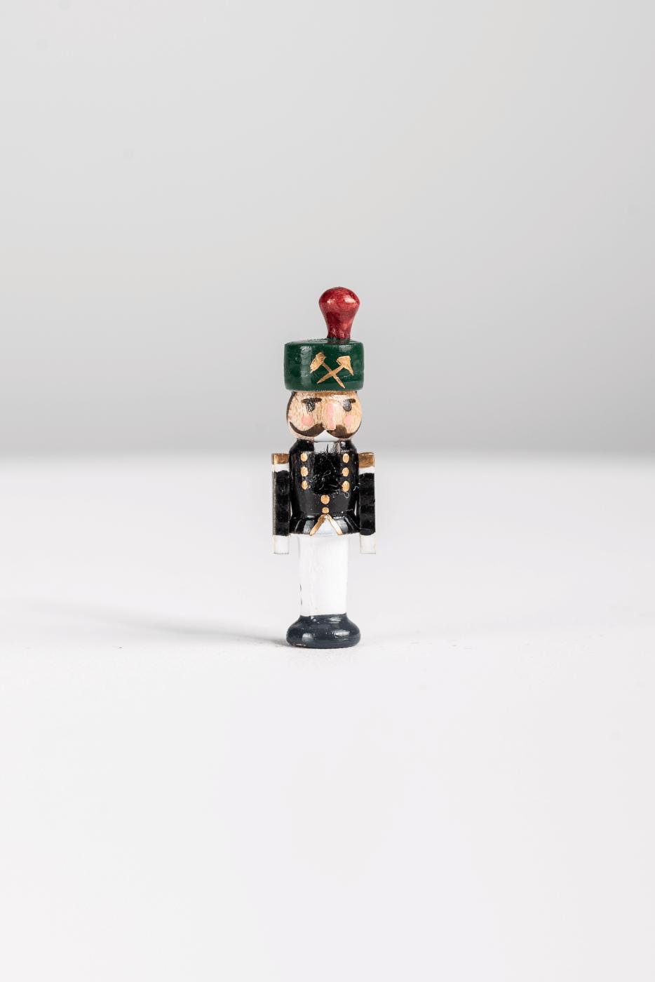 "Miniatur Nussknacker ""Bergmann"""