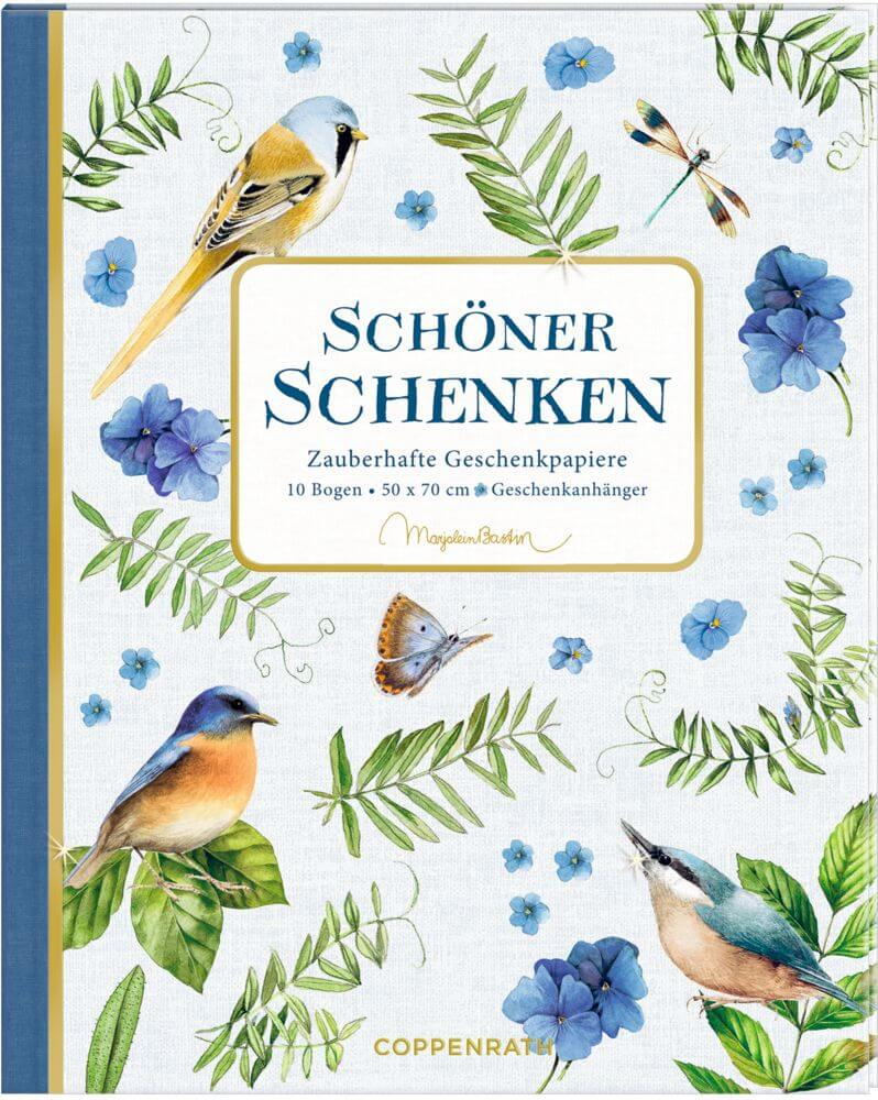 Geschenkpapier-Buch - Schöner Schenken (Marjolein Bastin)
