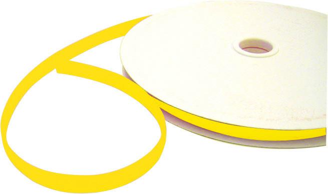 Klettband, gelb