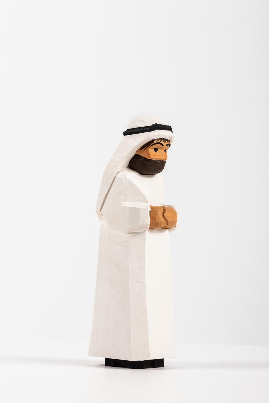 Beduine, stehend