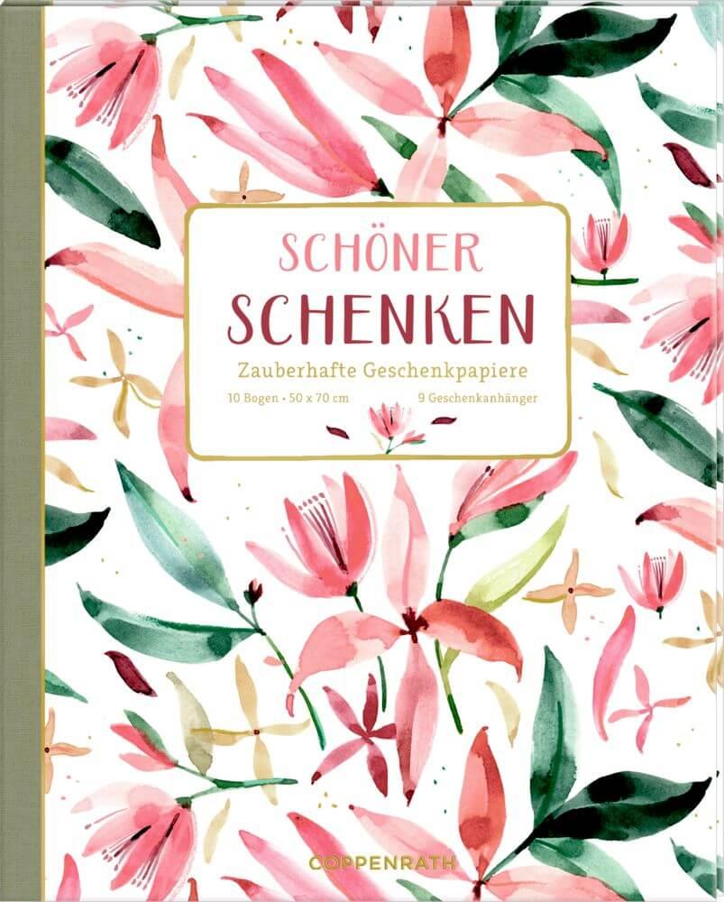 Geschenkpapier-Buch - Schöner Schenken (All about rosé )