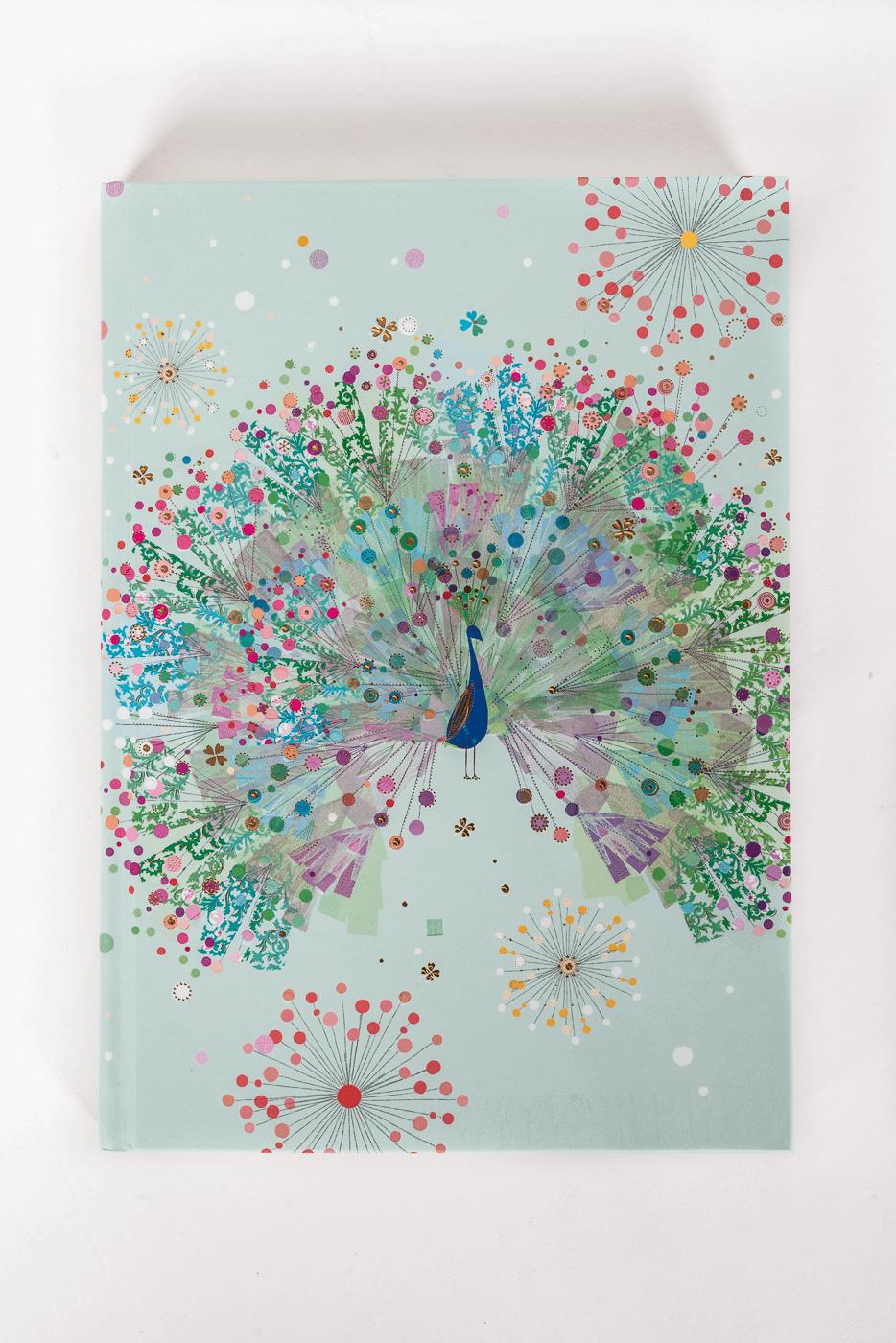Notizbuch Peacock
