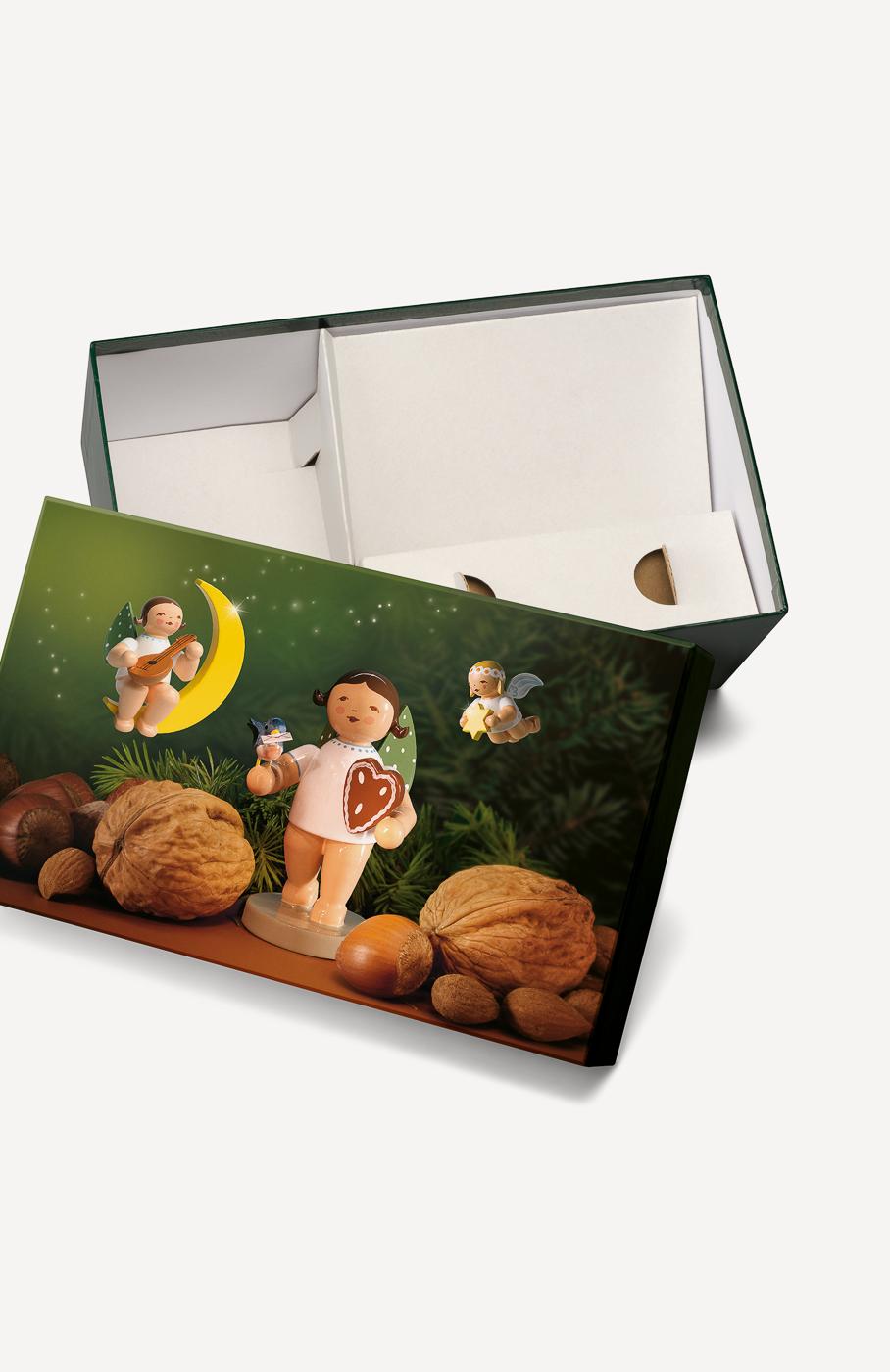 """bGeschenkebox """"Lebkuchenengel"""""""