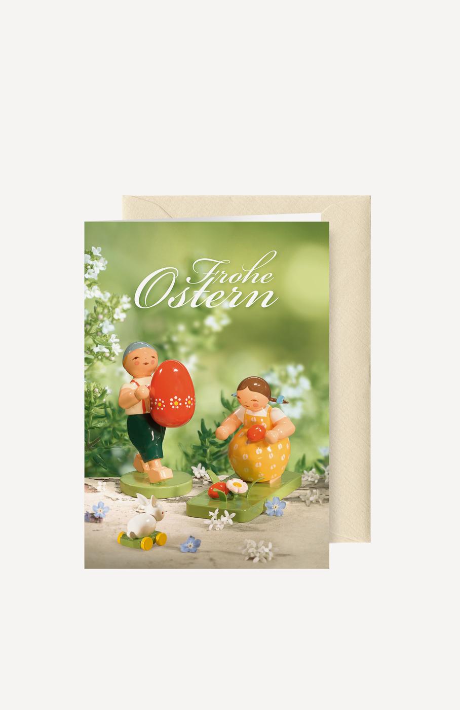 "Grußkarte ""Ostern"""