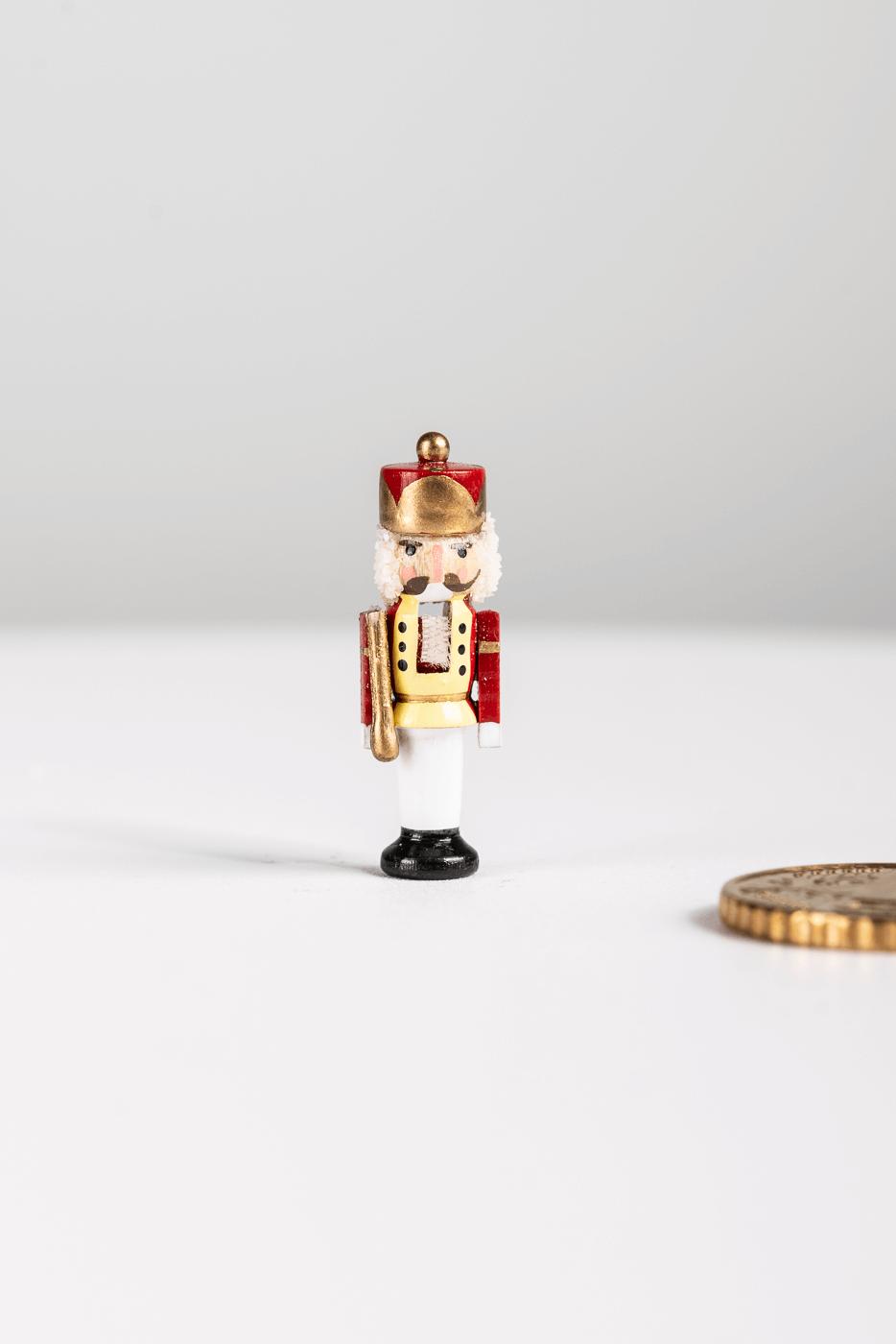 "Miniatur Nussknacker ""August der Starke"""