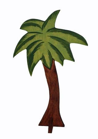 Palme, einteilig