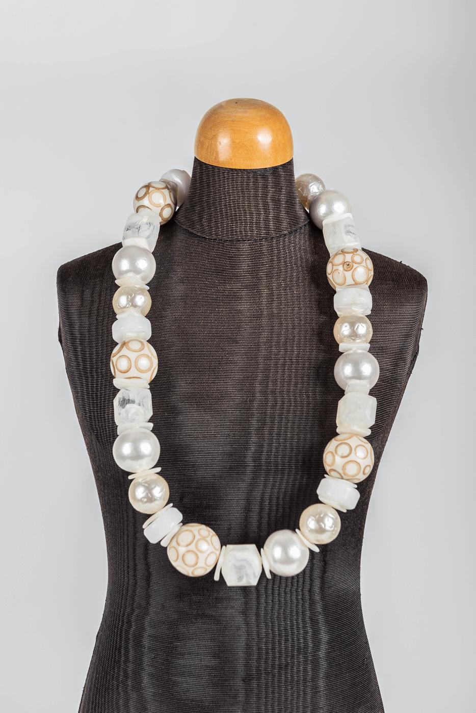 Halskette Langani, silber