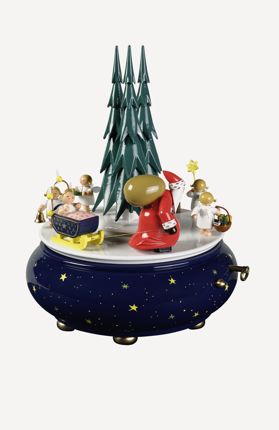 """Spieldose 'Weihnachtszug', Melodie """"O du fröhliche"""""""