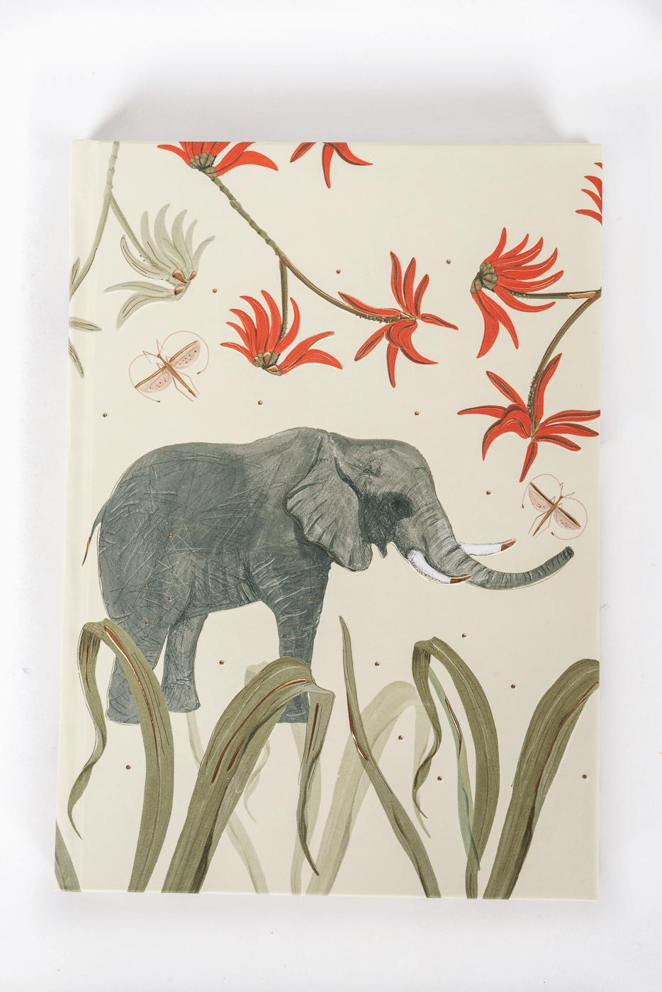 Notizbuch Wild Life, Elephant