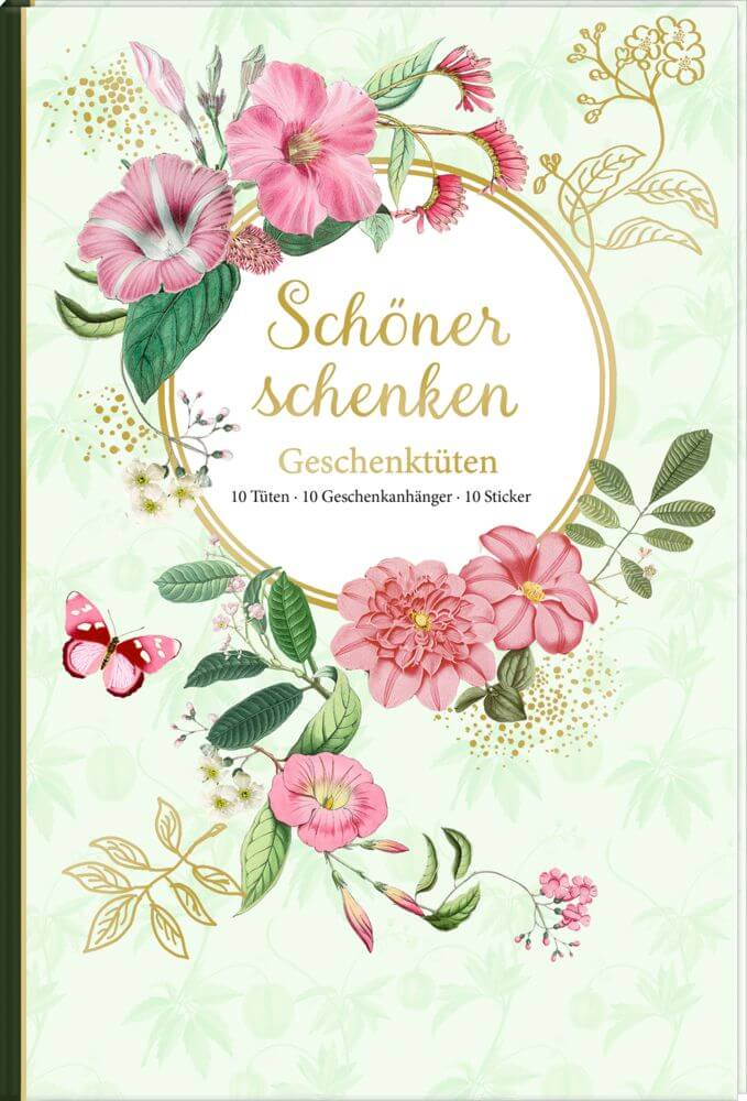 Geschenktüten-Buch: Schöner schenken (Barbara Behr)