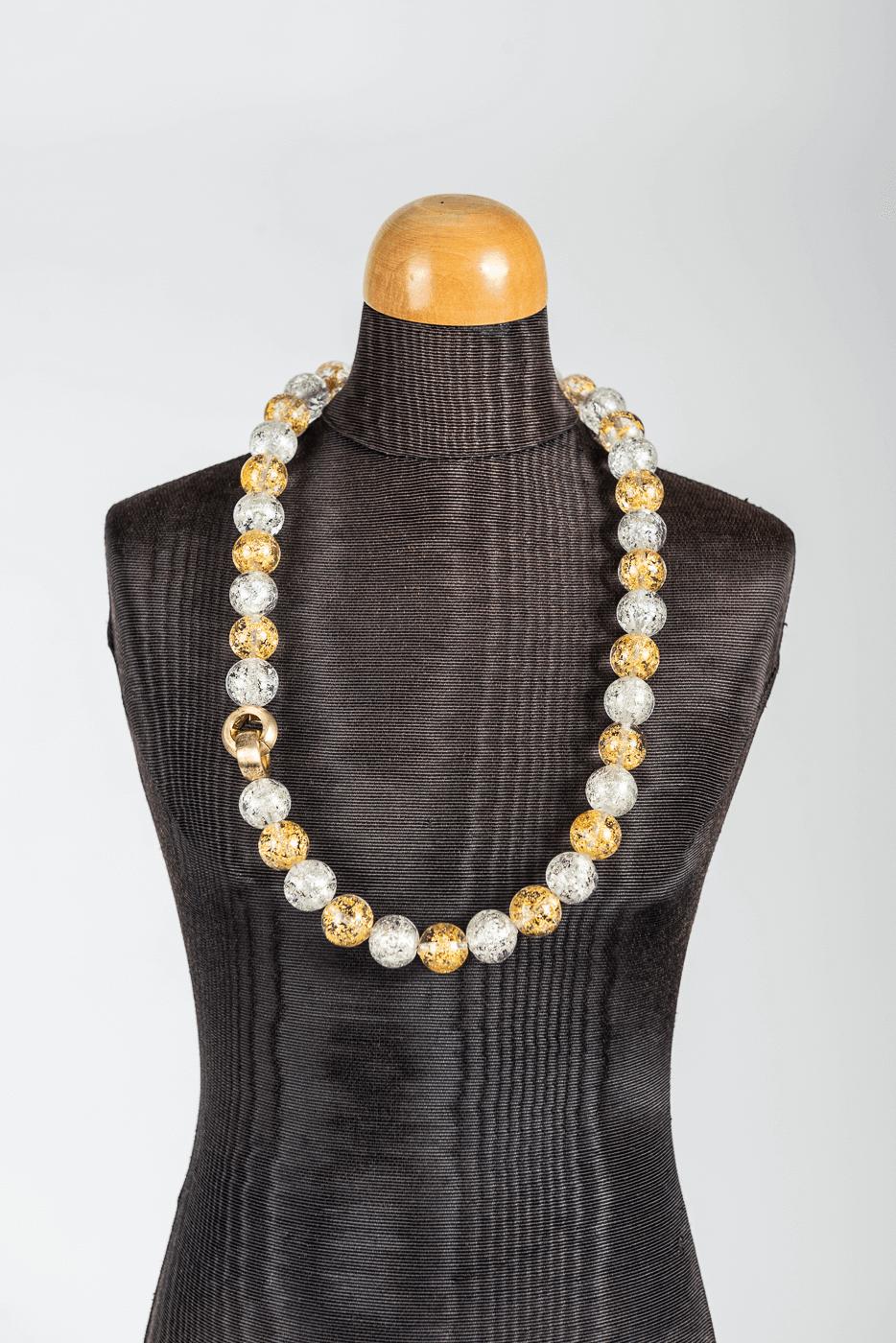 Kette, gold-silber