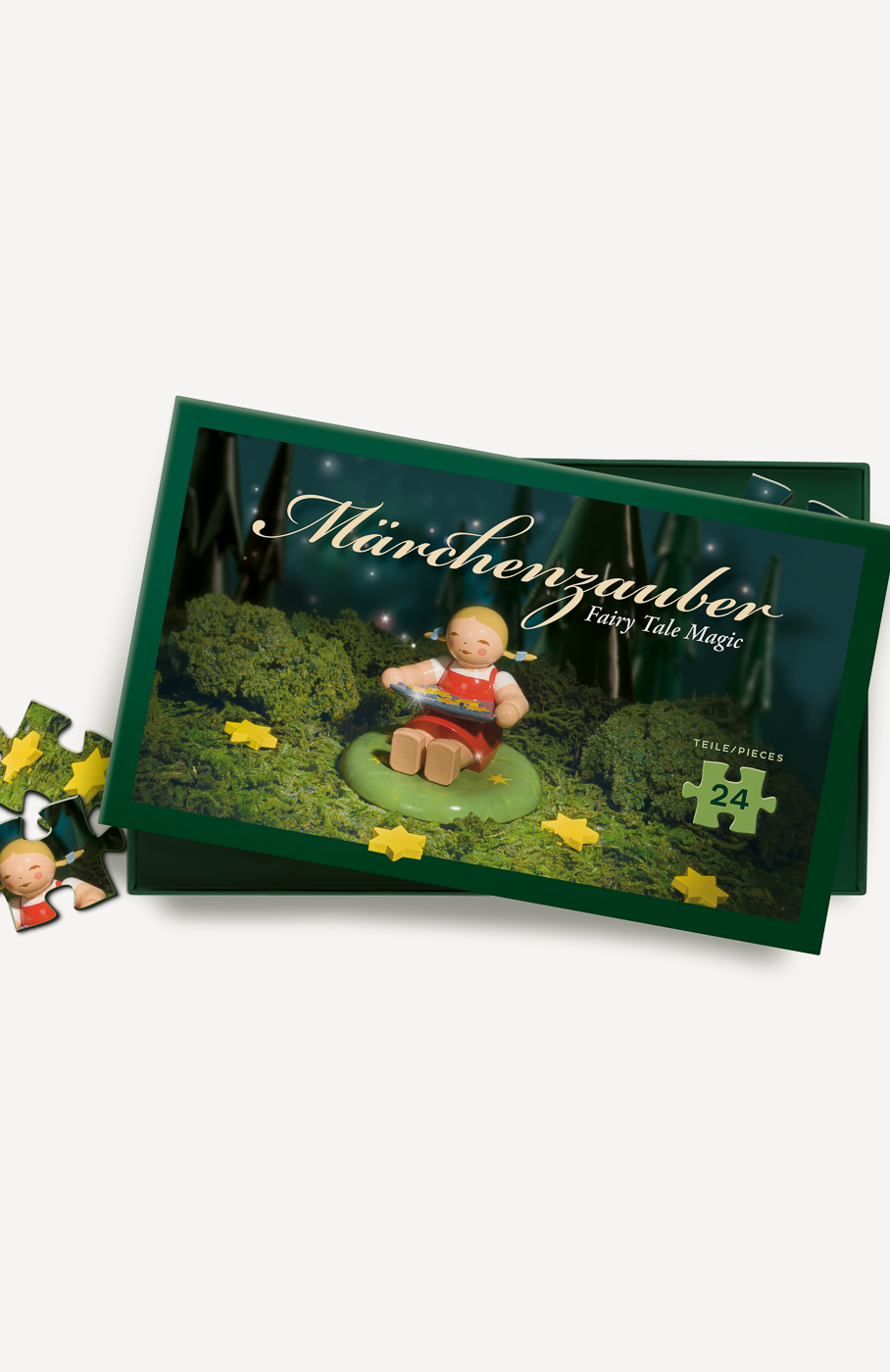 Märchenpuzzle, Sterntalermädchen, 24 Teile