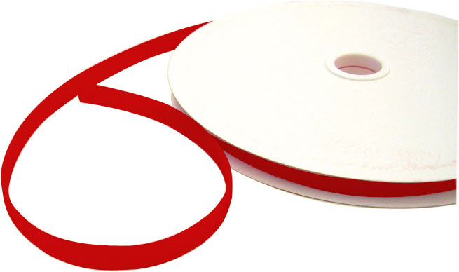 Klettband, rot