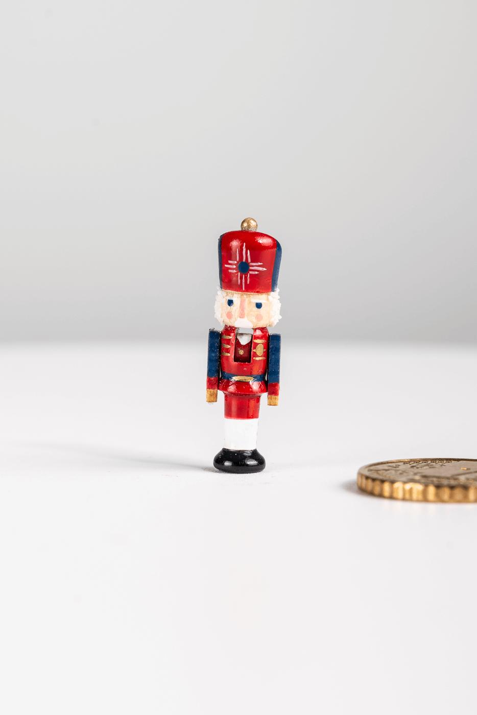 """Miniatur Nussknacker """"Johann Knatterburg"""""""