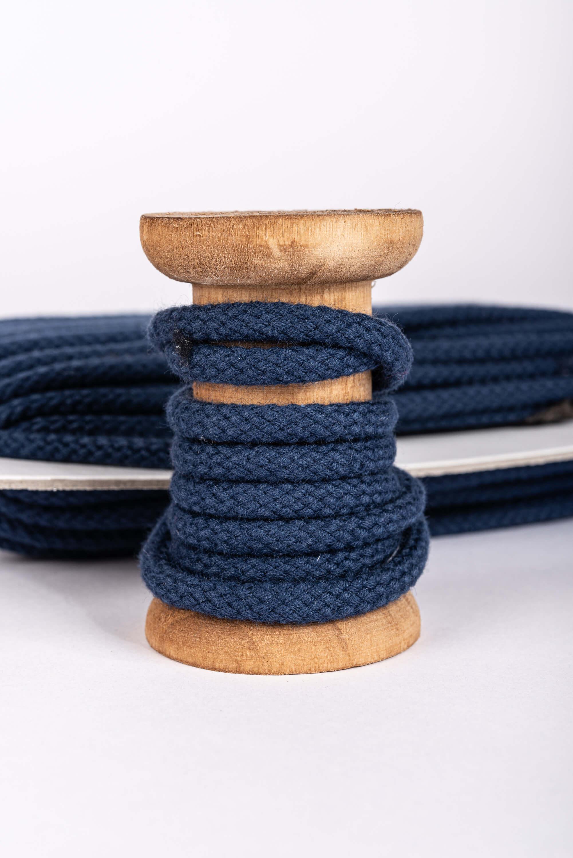 Kordel, blau