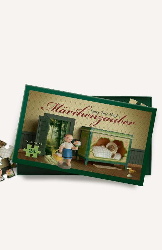 """aMärchenpuzzle, """"Rotkäppchen und der Wolf"""", 24 Teile"""