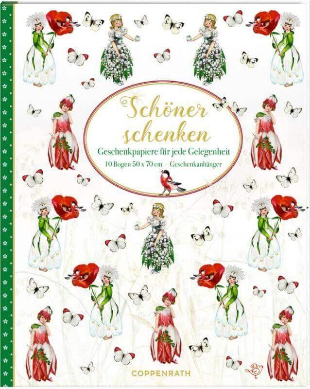 aGeschenkpapier-Buch - Schöner Schenken (Blumenkinder) B.Behr