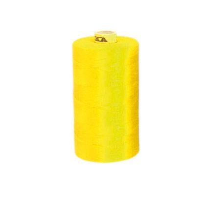 aBaumwoll-Garn, gelb