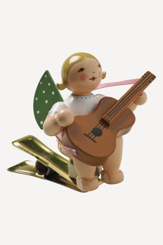 aEngel mit Gitarre, auf Klemme