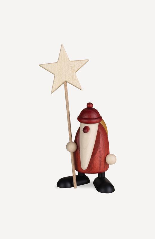 aWeihnachtsmann mit Stern, klein