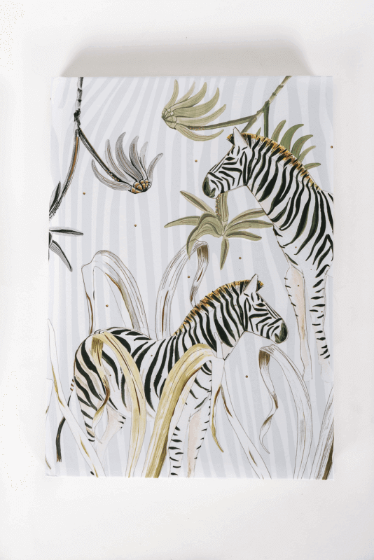 aNotizbuch Wild Life, Zebra