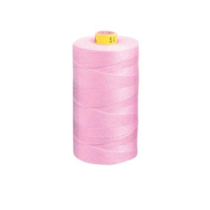 aBaumwoll-Garn, rosé