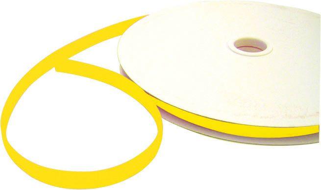 aKlettband, gelb