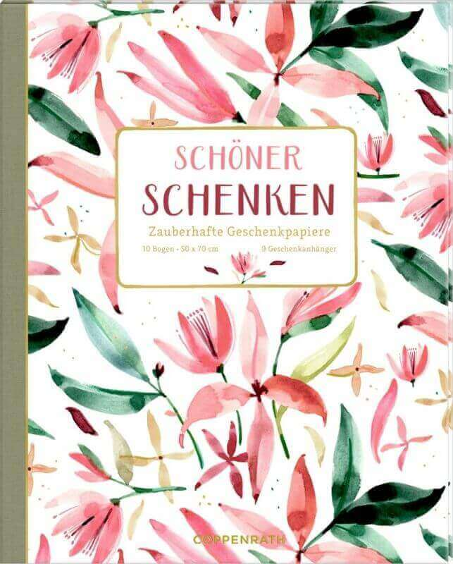 aGeschenkpapier-Buch - Schöner Schenken (All about rosé )