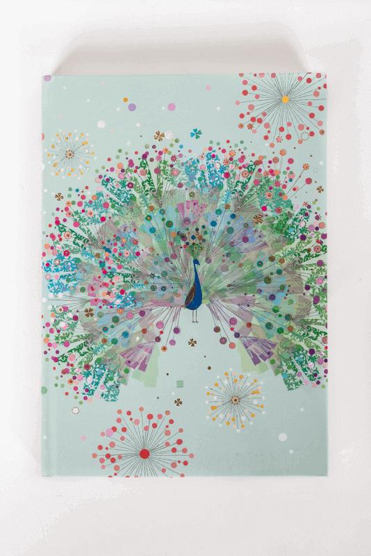 aNotizbuch Peacock