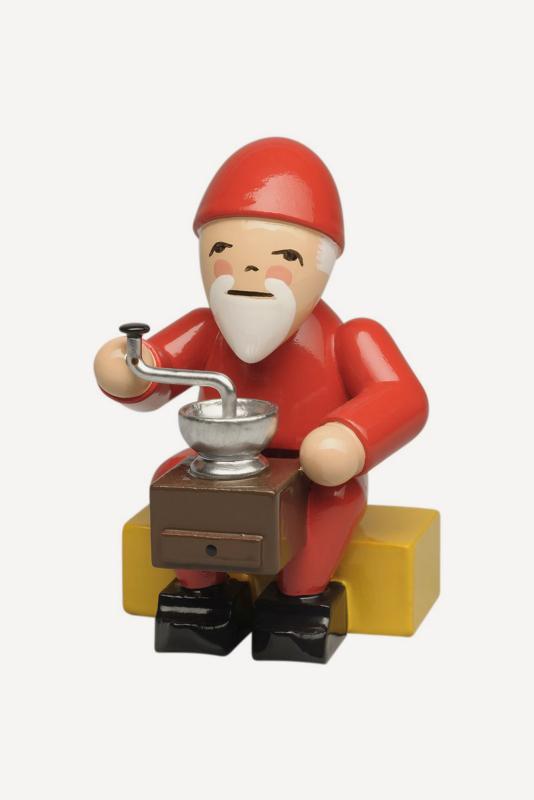 aWendt und Kühn - Weihnachtsmann mit Kaffeemühle