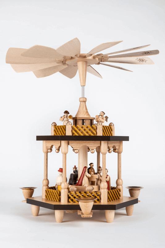 aPyramide Christi Geburt, 1-stöckig