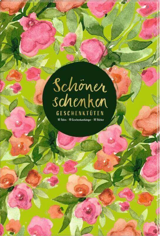 aGeschenktüten-Buch: Schöner schenken (Frühling im Herzen)
