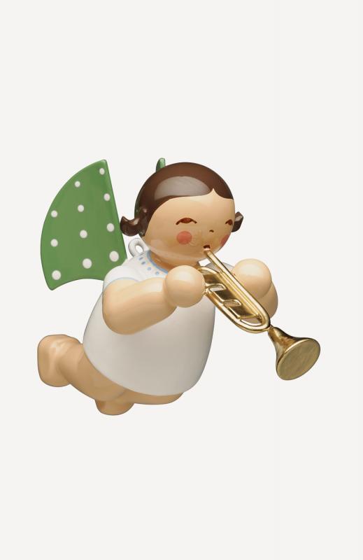 aEngel mit Trompete, schwebend