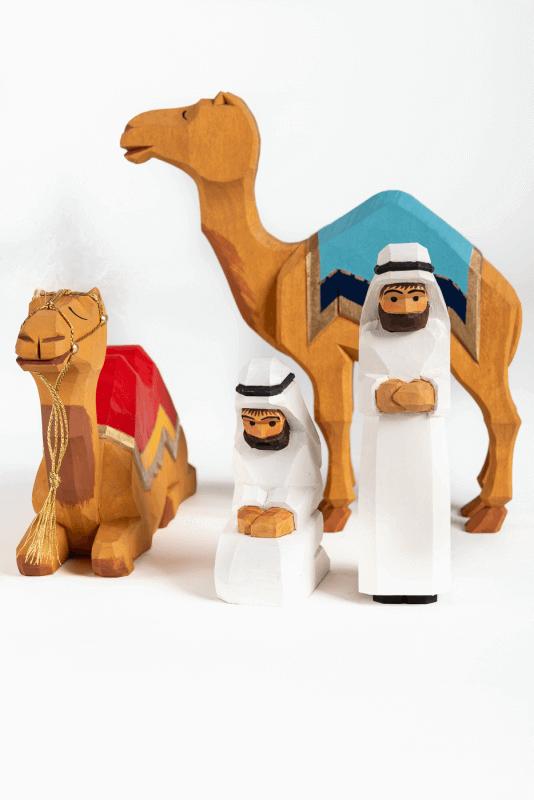 aKrippenfiguren - Set: Orientalisch