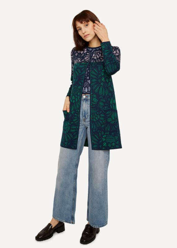 aPencil Trace Long Jacket