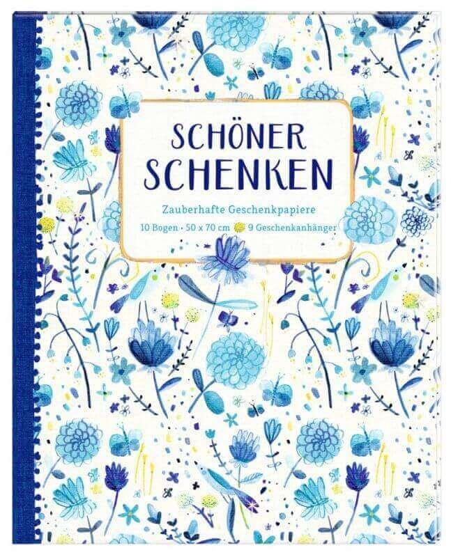 aGeschenkpapier-Buch - Schöner Schenken (All about blue)