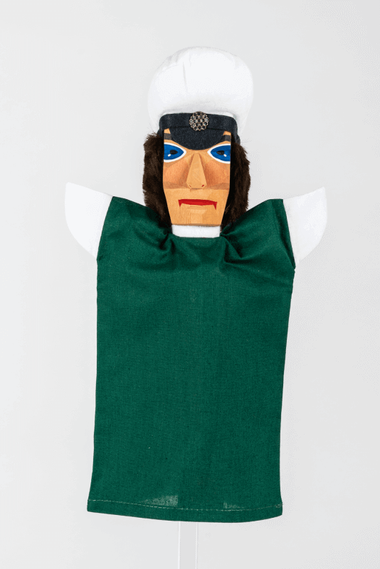 aVerkehrspolizist, grün