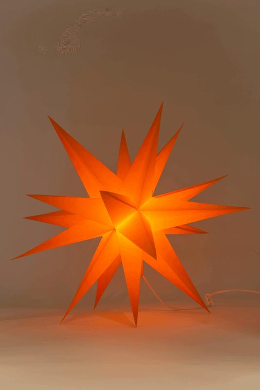 aAnnaberger Faltstern orange No. 5