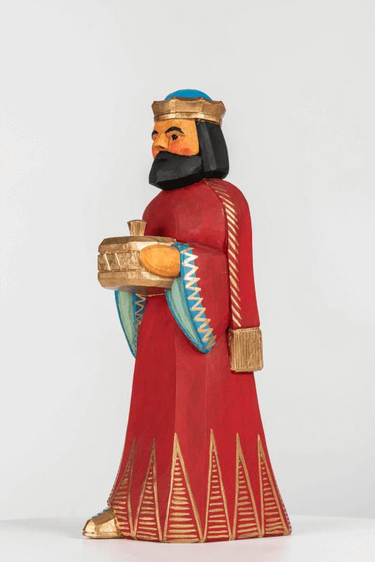 aKönig, rot