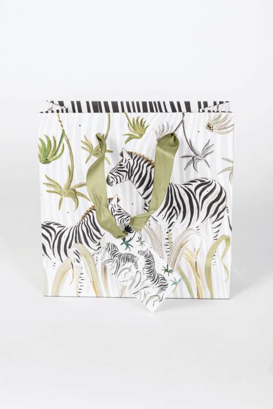 aGeschenktasche, Wild Life, Zebra