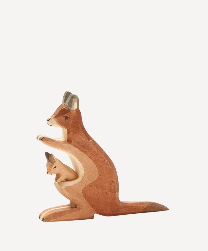 aKänguru mit Kind 2-teilig