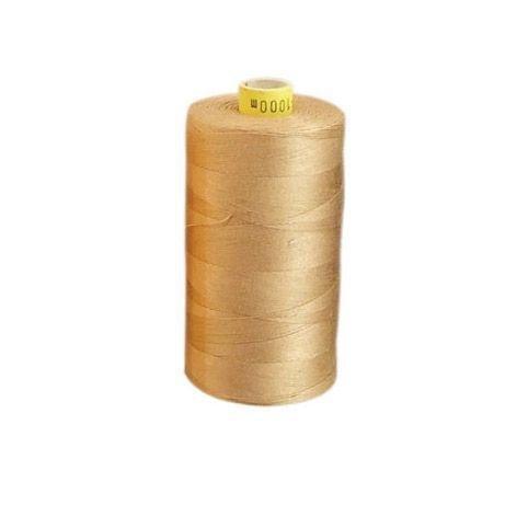 aBaumwoll-Garn, herbstgold