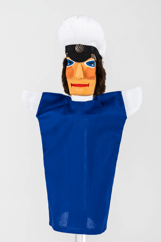 aVerkehrspolizist, blau