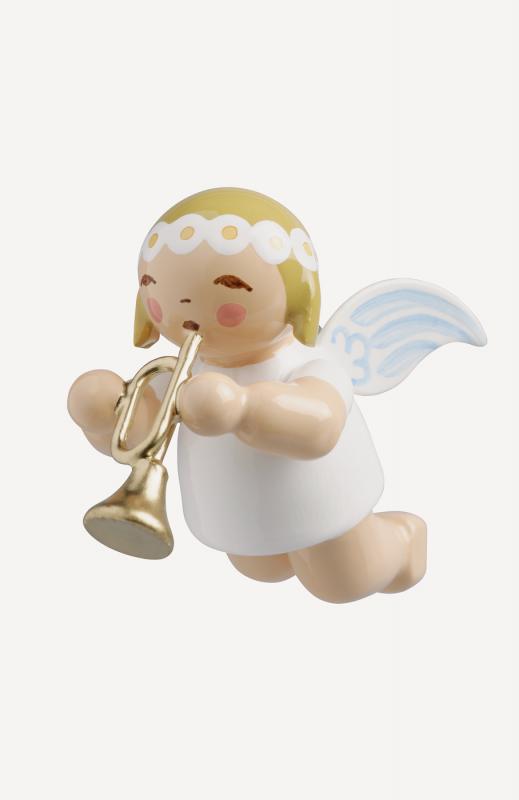 aSchwebeengel, klein, mit Trompete
