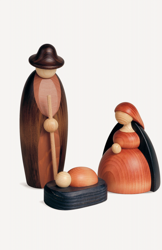 aChristi Geburt (Maria, Josef, Krippe)